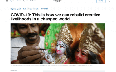 COVID-19: This is how we can rebuild creative livelihoods in a changed world