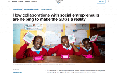 How collaborations with social entrepreneurs are helping to make the SDGs a reality