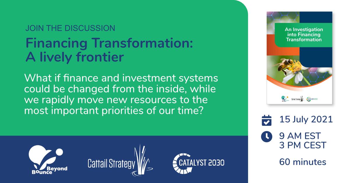 Financing transformation report