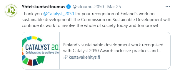 Finnish Reaction