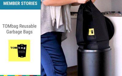 TOMbag – the world's first reusable garbage bag