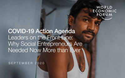 COVID-19 Action Agenda Leaders on the Front Line: Why Social Entrepreneurs Are Needed Now More than Ever